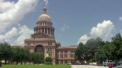 Austin Texas Capital Building Closer HD Stock Footage