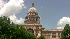 Austin Texas Capital Building HD Stock Footage