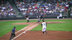 Baseball Out At First Base Arkistovideo