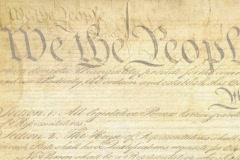 Constitution (20 seconds) - stock footage