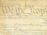 Constitution (20 seconds) Stock Footage