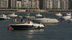 "Boats, ""La Concha"" bay Stock Footage"