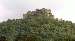 Castle Hohenneuffen Stock Footage