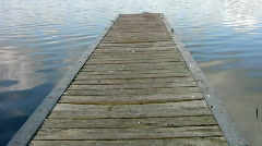 Boat dock closeup HD Stock Footage