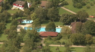 Public swimming pool Stock Footage
