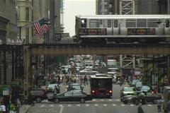 El Train  Stock Footage