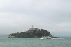 Alcatraz Tour Stock Footage