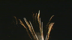 Fireworks 6 part I Stock Footage