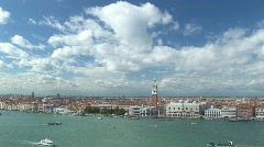Venice marcus place very wide Stock Footage