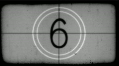 Countdown HD Stock Footage