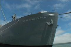 World War II Ship Stock Footage