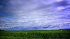 Cloud timelapse loop - stock footage