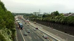 Morning traffic Stock Footage