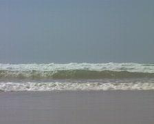 Ocean waves at Vale Figuiras Stock Footage