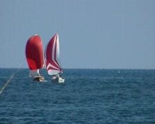 Yacht Race Stock Footage