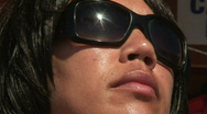 Stock Video Footage of  Close up of a woman sunbathing. HD 1080i
