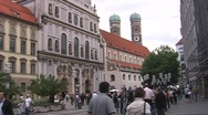 Stock Video Footage of Munich Pedestrian Zone