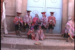 Sights in Peru - stock footage