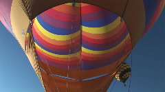 Hot air balloon - lift off Stock Footage