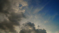 Clouds time lapse 3 Stock Footage