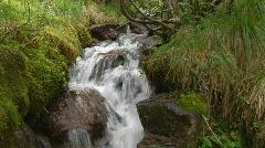 Idyllic waterfall standard Stock Footage
