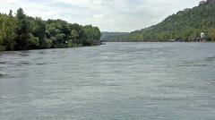 Colorado River downstream Austin TX HD - stock footage