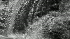 Waterfall very close fast shutter Stock Footage