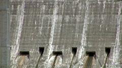 Mansfield Dam bridge Austin TX Zoom Out HD Stock Footage