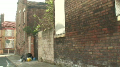 2 clips of urban decay. HD 1080i Stock Footage