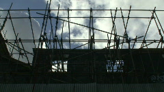 Construction timelapse Stock Footage