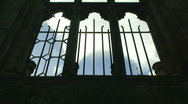 Stock Video Footage of Time-lapse clouds through church window HD 1080i