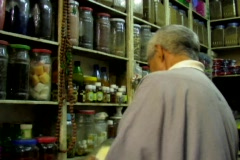 Alchemist in morocco Stock Footage