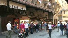 At Ponte Vecchio 5 Stock Footage