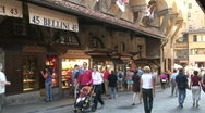 At Ponte Vecchio 5 Stock Footage