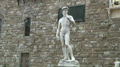 """David"" of Michelangelo Stock Footage"