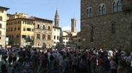 Stock Video Footage of Piazza Della Signoria