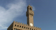 Palazzo Vechio Stock Footage