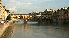 Ponte Vecchio 4 Stock Footage