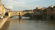 Stock Video Footage of Ponte Vecchio 4