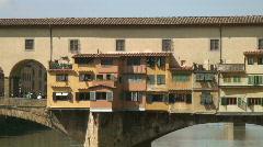 Ponte Vecchio 3 Stock Footage