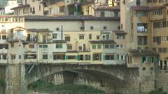 Ponte Vecchio 2 Stock Footage