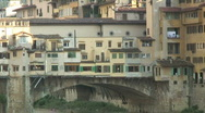 Stock Video Footage of Ponte Vecchio 2