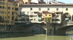 Ponte Vecchio 1 Stock Footage