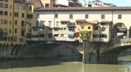 Stock Video Footage of Ponte Vecchio 1