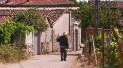 Spanish rural scene - stock footage