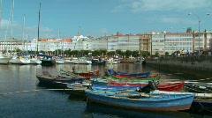 Coruna, Galicia, Spain Stock Footage