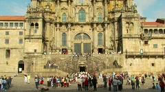 Santiago de Compostela Stock Footage