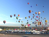 Stock Video Footage of Albuquerque Int'l Balloon Fiesta