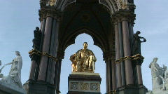 Albert memorial - stock footage