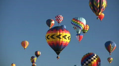 Albuquerque International Balloon Fiesta Stock Footage